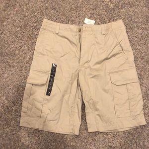Men's NWT Banana Republic tan shorts size 35